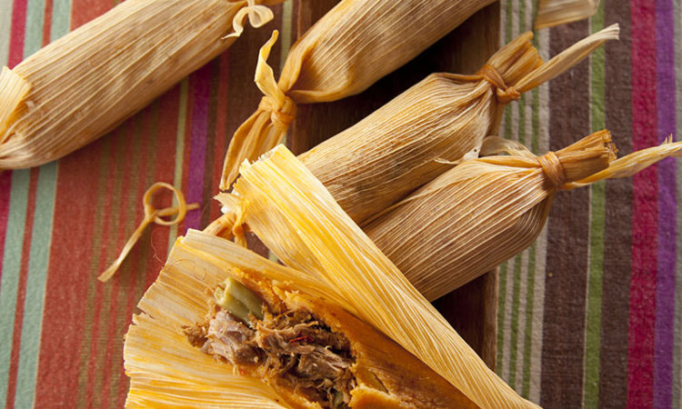 Midnight Pork Tamales Recipe